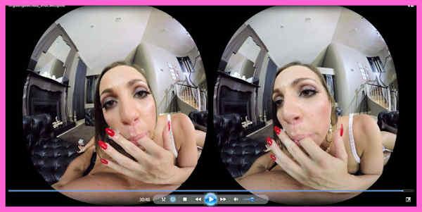 Abigail Mac VR porn review feature image