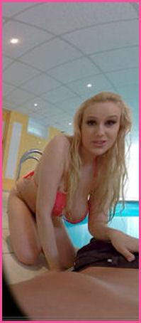 Angel Wicky pink bikAngel Wicky pink bikini VRini VR