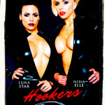 Luna Star and Nina Elle Hookers promotional cover