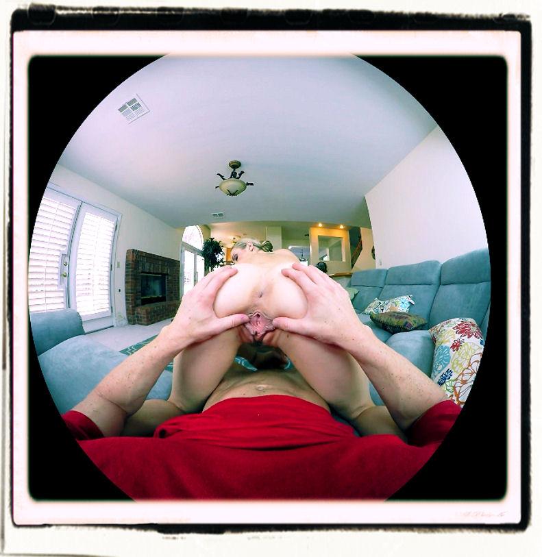 Karla Kush VR doggy position