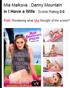 Mia Malkova finally in virtual reality!