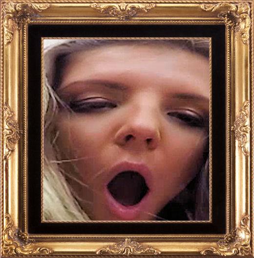 Gina Gerson open mouth virtual reality sex