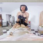 Mistress Minerva bondage vr