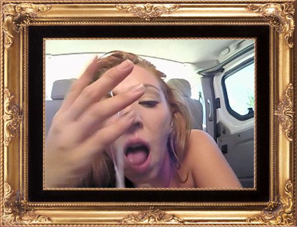 Picture of BaDoinkVR's Pamela Sanchez with cum on hand