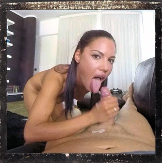 Teen Apolonia eats cum in BaDoink's VR porn movie