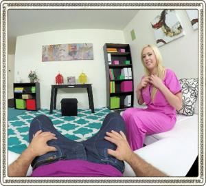 VR nurse Kagney Linn Karter