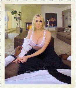 Christie Stevens in bra
