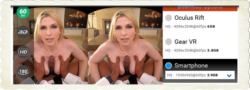 Christie Stevens VR movie