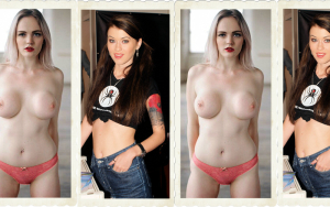 Misha Cross Carly Summers header collage