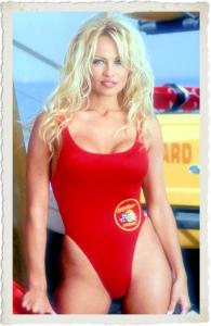 Baywatch bathing suit