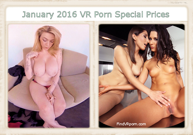 January 2016 VR porn special prices discount header image