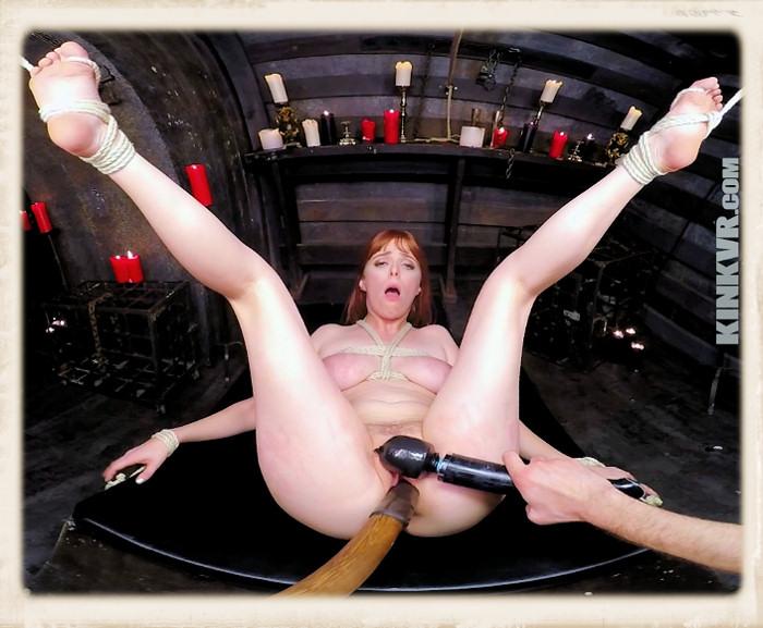 Penny Pax dildo pole