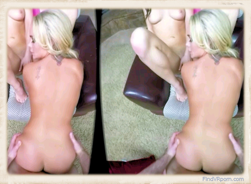 Alexis Monroe doggy style vr in Naughty Stepsisters VR