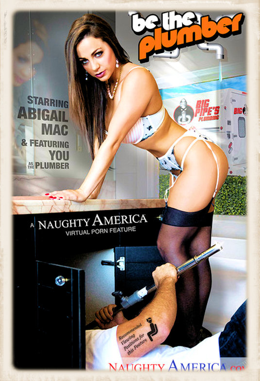 Abigail Mac Be The Plumber dvd cover