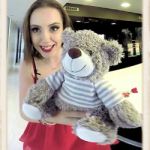 Zoe Doll with teddy bear