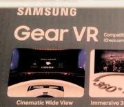 Back of Samsung Gear VR box