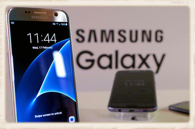 picture Samsung Galaxy phone
