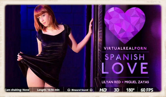 Virtual Real Porn's Spanish Love feature header image
