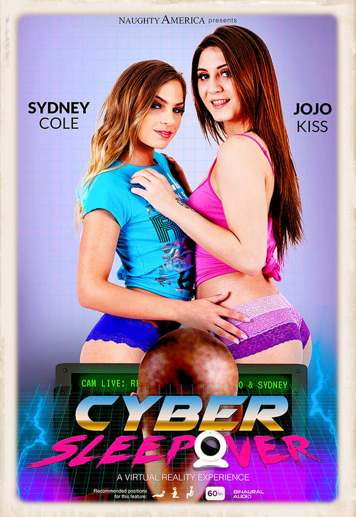 Cyber Sleepover promotional graphic