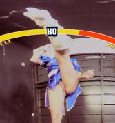 Lucy Nieto high kick
