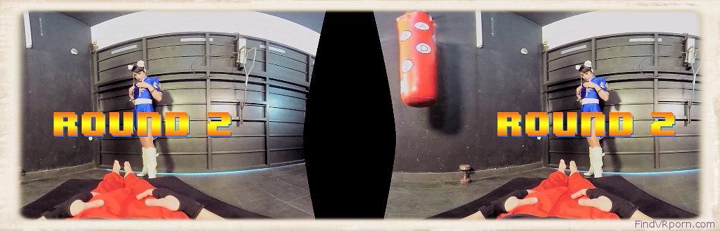 Street FIghter VR round 2 graphic