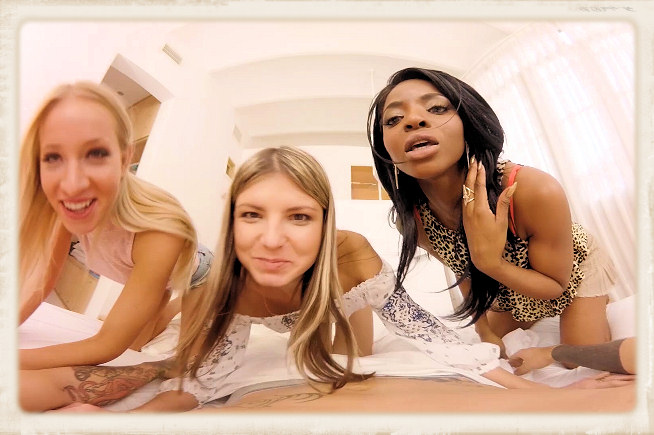 Gina Gerson Jasmine Webb Kiara Lord in virtual porn Neighbors
