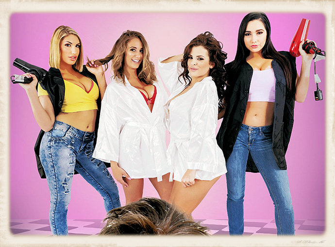 Naughty America's Sizzer Sisters promo image