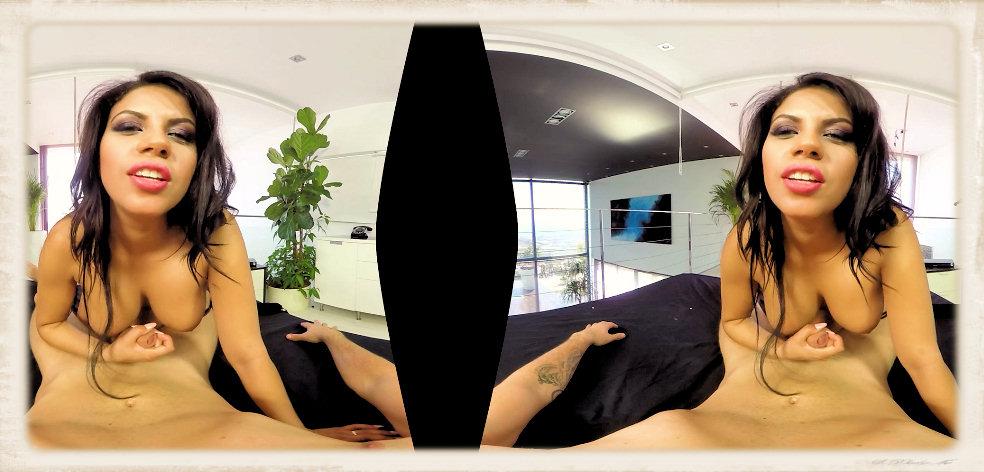 Kesha Ortega face in VR porn