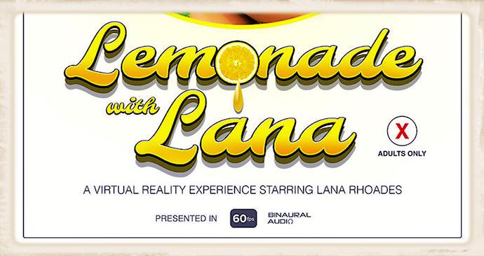 Lemonade with Lana text graphic