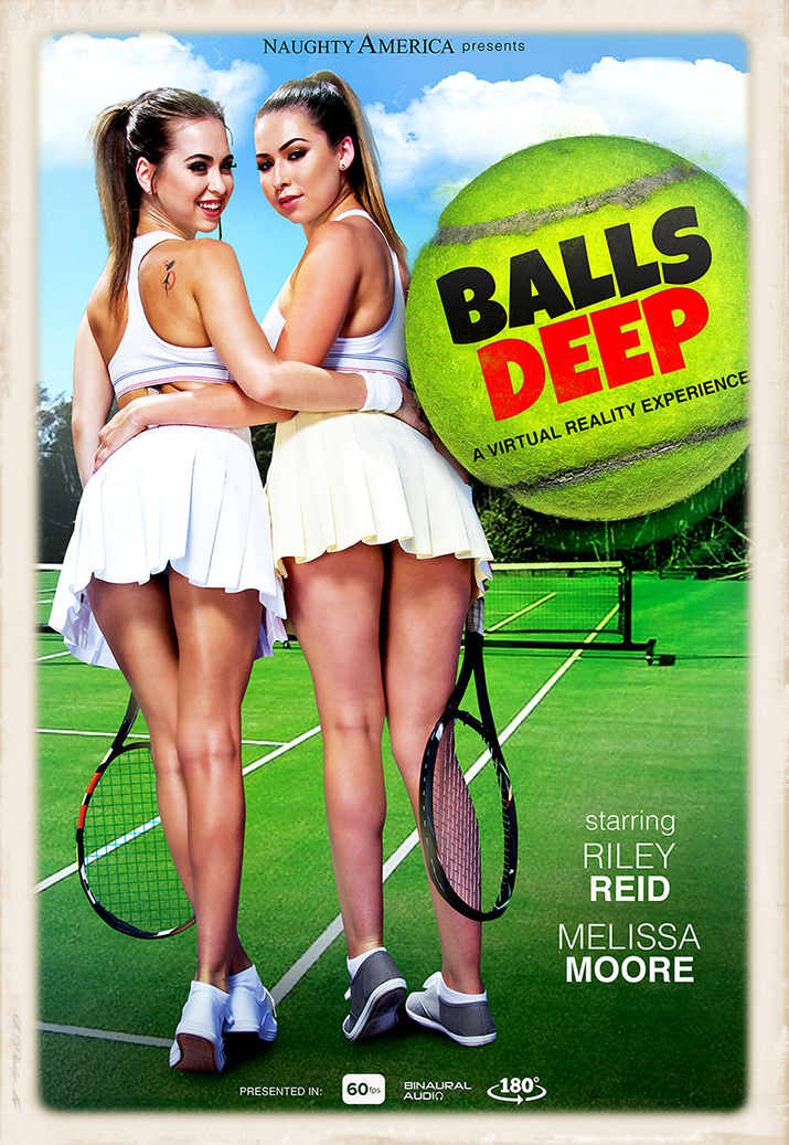 Balls Deep Naughty America promo graphic