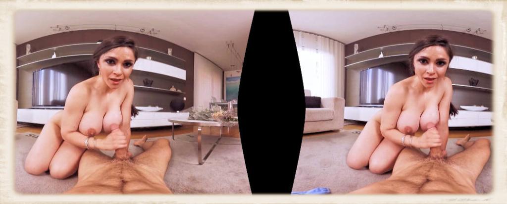 Marta LaCroft VR handjob