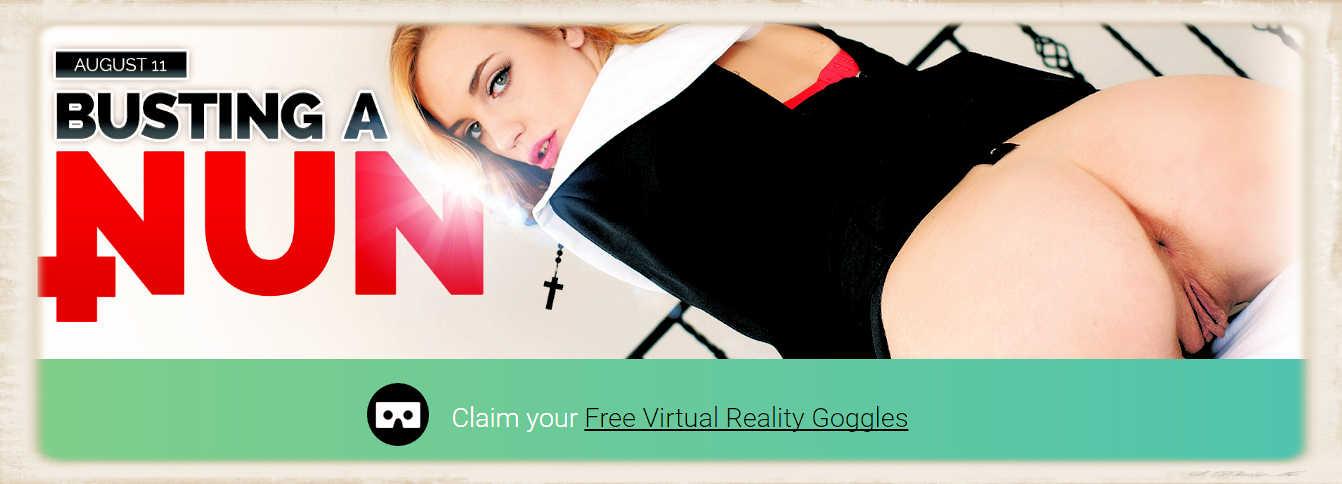 Badoinkvr fuck a nun in virtual reality blake eden 9