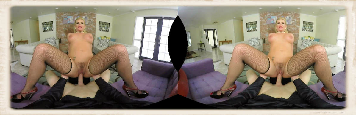 Phoenix Marie cowgirl leanback in Dirty Wives Club VR