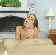 Jill Kassidy eats cum