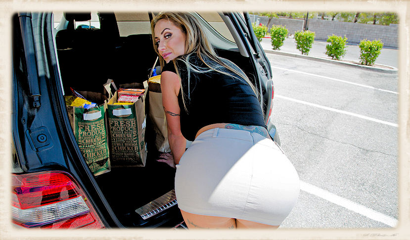 Eva Notty tight skirt