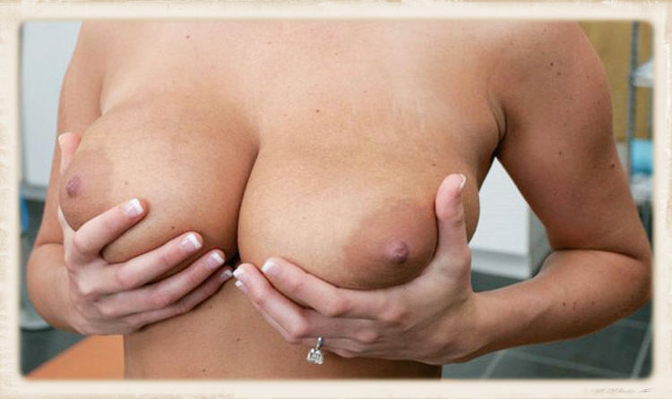 squeeze tits pic