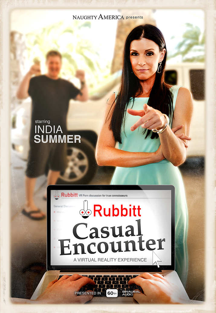 India Summer stars in Rubbit Casual Encounter for Naughty America VR