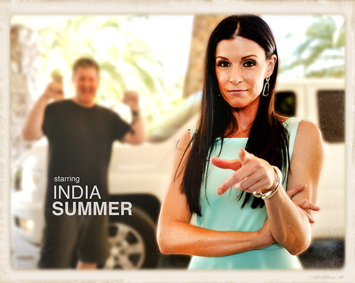 India Summer header graphic