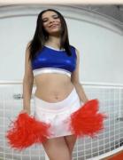 Violet Starr cheerleader