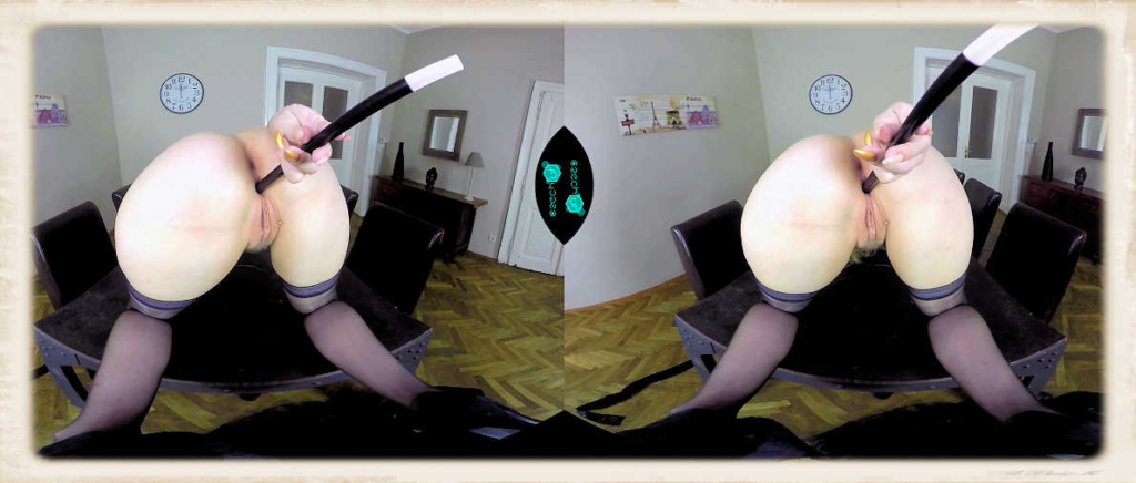 Angel Wicky's witch wand antics for CzechVR