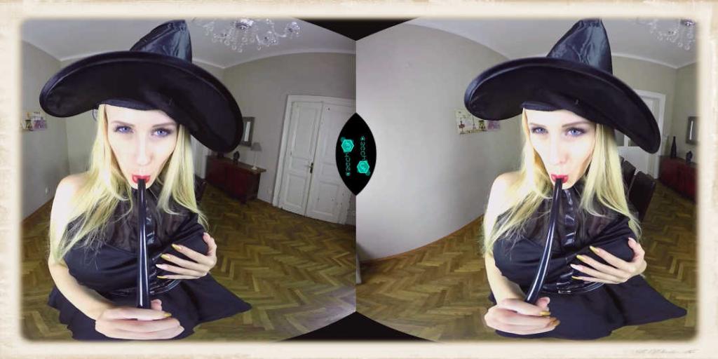 Angel Wicky in a very horny Halloween VR released by Czech VR
