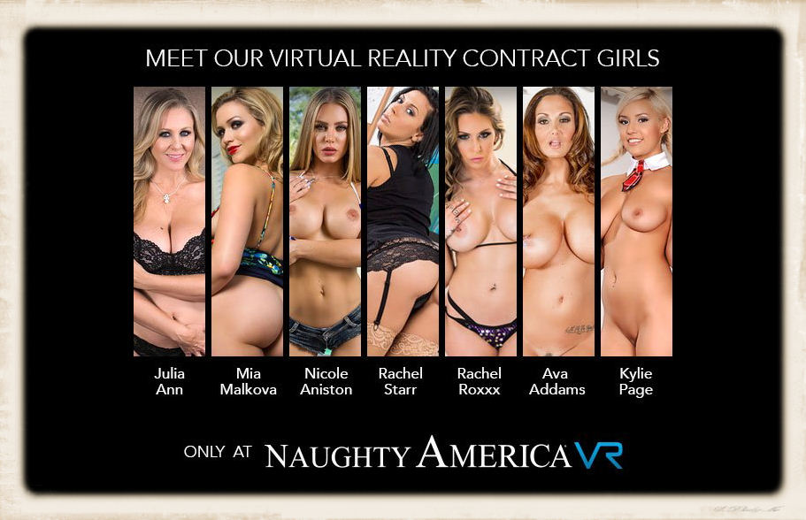 Naughty America porn company's VR contract girls