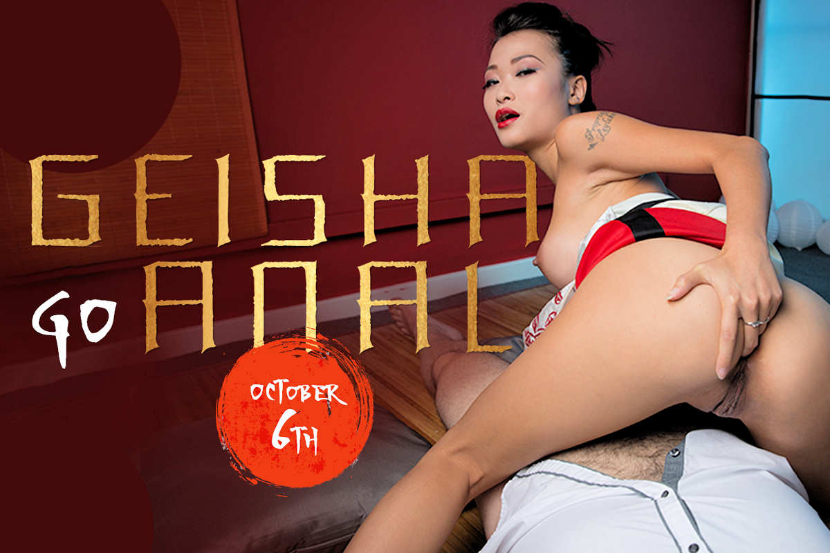 Promo for next week's BaDoinkVR: Geisha Go Anal