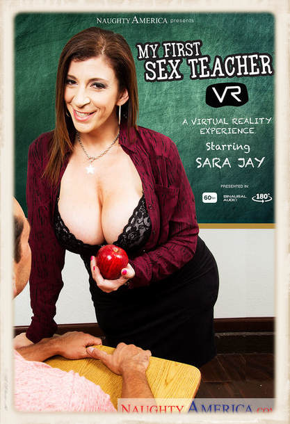 Sara Jay as virtual sex teacher