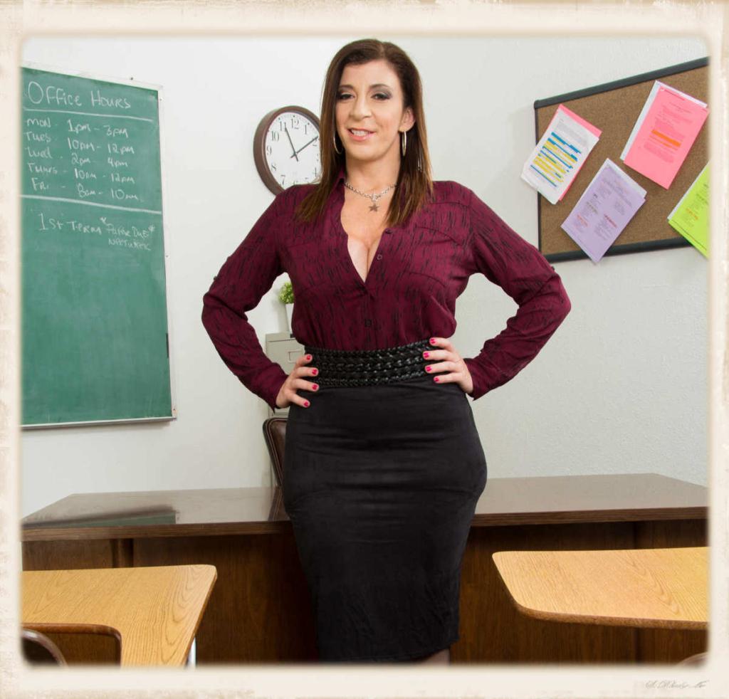 Sara Jay as sex teacher