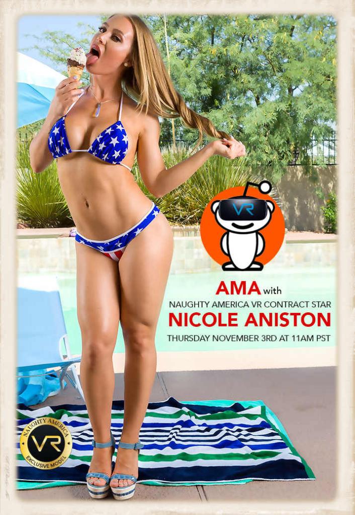Nicole Aniston Reddit AMA