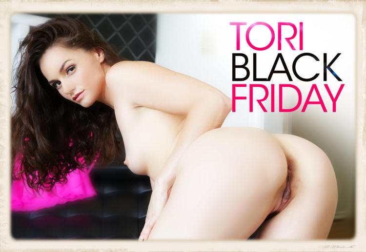 promotional doggy style graphic for Tori Black Friday released by BaDoinkVR Nov 2016