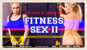 Karlie Simon is the star of Fitness Sex II