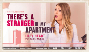 Ms. Heart returns in There's A Stranger In My Apartment