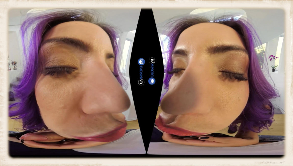 VR kissing with Yurizan Beltran